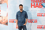 Spanish actor Hugo Silva poses during `Tenemos que hablar´ film presentation in Madrid, Spain. February 24, 2016. (ALTERPHOTOS/Victor Blanco)