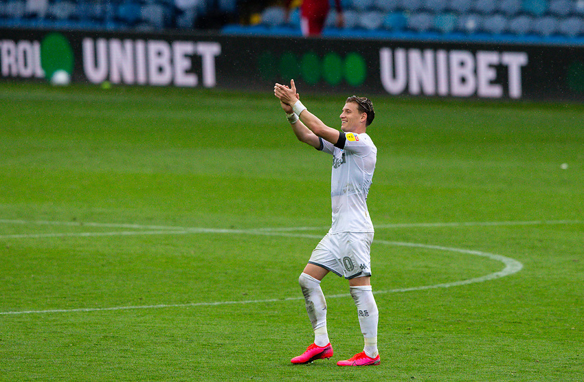 Leeds United's Ezgjan Alioski applauds the empty seats after the match <br /> <br /> Photographer Alex Dodd/CameraSport<br /> <br /> The EFL Sky Bet Championship - Leeds United v Fulham - Wednesday 24th June 2020 - Elland Road - Leeds<br /> <br /> World Copyright © 2020 CameraSport. All rights reserved. 43 Linden Ave. Countesthorpe. Leicester. England. LE8 5PG - Tel: +44 (0) 116 277 4147 - admin@camerasport.com - www.camerasport.com<br /> <br /> Photographer Alex Dodd/CameraSport<br /> <br /> The Premier League - Newcastle United v Aston Villa - Wednesday 24th June 2020 - St James' Park - Newcastle <br /> <br /> World Copyright © 2020 CameraSport. All rights reserved. 43 Linden Ave. Countesthorpe. Leicester. England. LE8 5PG - Tel: +44 (0) 116 277 4147 - admin@camerasport.com - www.camerasport.com