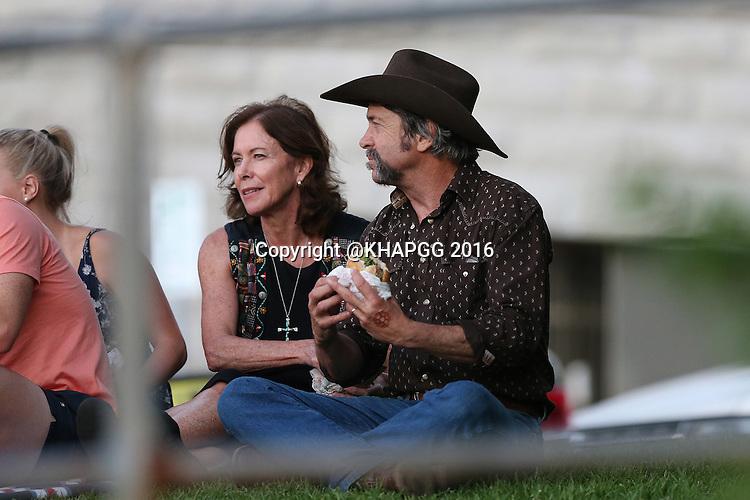 Lynzey Murphy and family celebrates her birthday with a picnic in Bondi on February 25, 2016 in Sydney, Australia