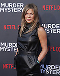 "Jennifer Aniston 060 arrives at the LA Premiere Of Netflix's ""Murder Mystery"" at Regency Village Theatre on June 10, 2019 in Westwood, California"