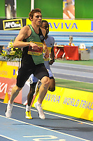 Photo: Paul Greenwood/Richard Lane Photography. Aviva World Trials & UK Championships. 14/02/2010. .Richard Buck wins the Mens 400m.