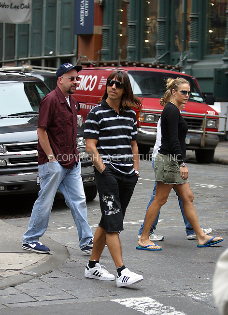 Anthony Kiedis in New York. July 27, 2004. Please byline: BRIAN FLANNERY--ACEPIXS.COM   ..  *** ***..Ace Pictures, Inc:  ..contact: Alecsey Boldeskul (646) 267-6913 ..Philip Vaughan (646) 769-0430..e-mail: info@acepixs.com