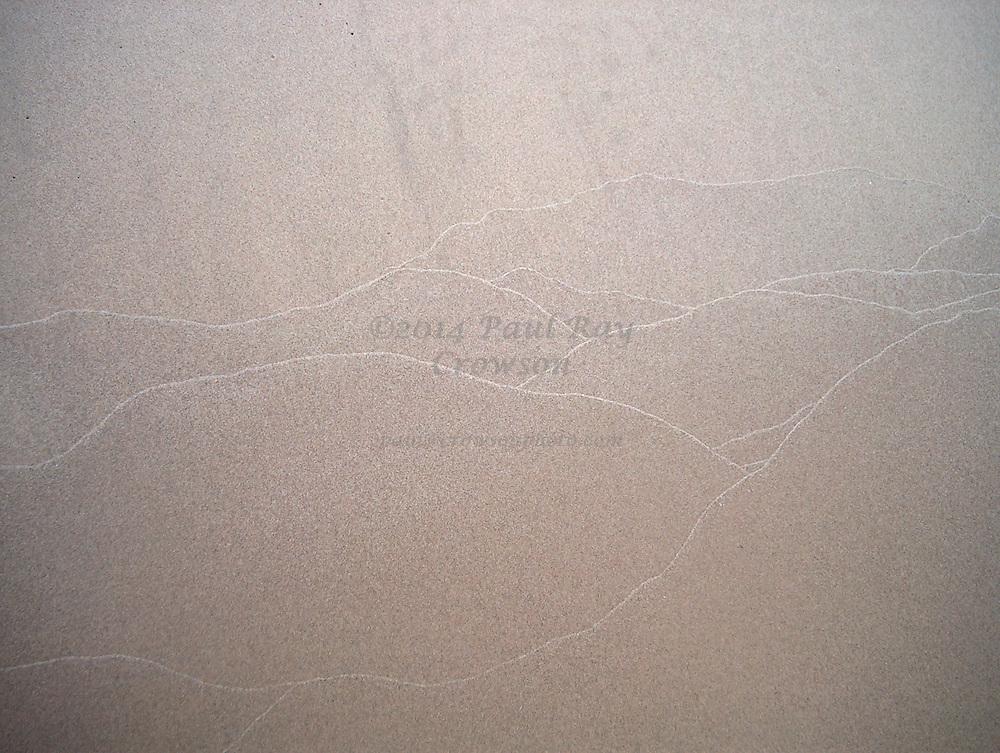 Shore of Lake Michigan - abstract detail