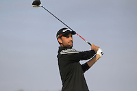 Steve Lewton (ENG) on the 11th tee during Round 3 of the 2015 Alfred Dunhill Links Championship at Kingsbarns in Scotland on 3/10/15.<br /> Picture: Thos Caffrey | Golffile