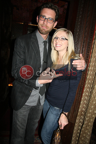 James Avallone and Kylee Reese<br /> at the Playback Wrap Party, House of Blues, West Hollywood, CA. 04-04-10<br /> David Edwards/DailyCeleb.com 818-249-4998