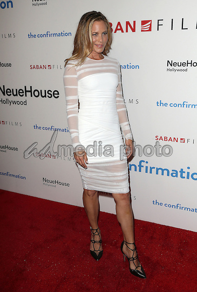 "15 March 2016 - Hollywood, California - Maria Bello. ""The Confirmation"" Los Angeles Premiere held at NeueHouse Hollywood. Photo Credit: Sammi/AdMedia"