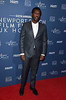 Abubakar Salim<br /> arriving for the Newport Beach Film Festival UK Honours 2020, London.<br /> <br /> ©Ash Knotek  D3551 29/01/2020