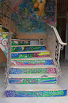 Tattoo Studi Stair Painting