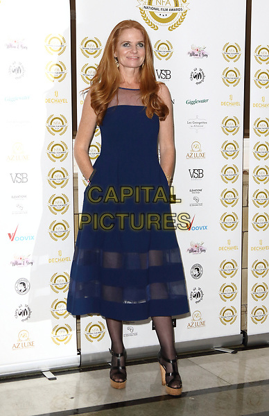 Patsy Palmer at the National Film Awards at the Porchester Hall, London on  Wednesday 28 March 2018 <br /> CAP/ROS<br /> &copy;ROS/Capital Pictures