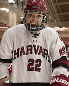 Kaitlin Tse (Harvard - 22) - The visiting Boston College Eagles defeated the Harvard University Crimson 2-0 on Tuesday, January 19, 2016, at Bright-Landry Hockey Center in Boston, Massachusetts.