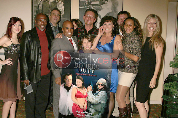 Cast of 'Double Duty' <br /> at the Los Angeles Screening of 'Double Duty'. Raleigh Studios, Los Angeles, CA. 12-13-08<br /> Dave Edwards/DailyCeleb.com 818-249-4998