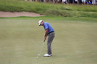 Steve Stricker (USA) birdie putt on the 5th green during Saturday's Round 3 of the 117th U.S. Open Championship 2017 held at Erin Hills, Erin, Wisconsin, USA. 17th June 2017.<br /> Picture: Eoin Clarke | Golffile<br /> <br /> <br /> All photos usage must carry mandatory copyright credit (&copy; Golffile | Eoin Clarke)