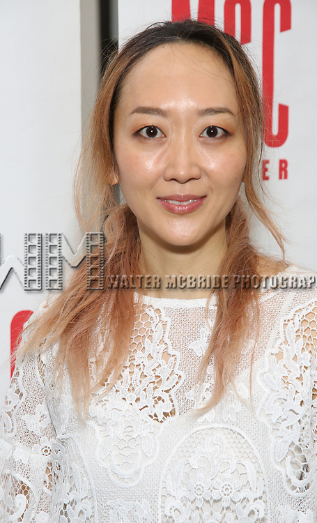 Sue Jean Kim attend 'The End Of Longing' cast photocall at Roundabout Rehearsal Studio on April 20, 2017 in New York City.