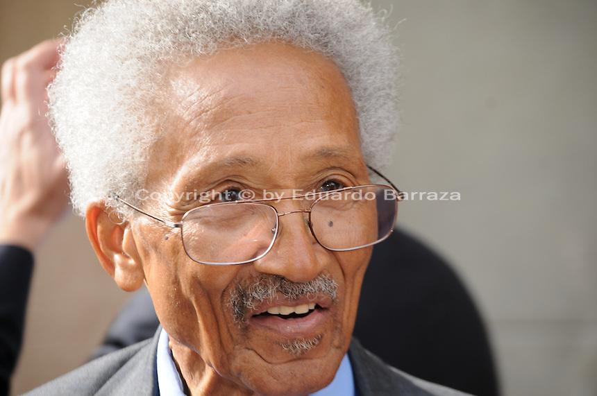 Calvin C. Goode, former City of Phoenix Councilman. Photo by Eduardo Barraza © 2012