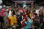 Gina Shortt's birthday in the Black Bull...(Photo credit should read Jenny Matthews/NEWSFILE)...