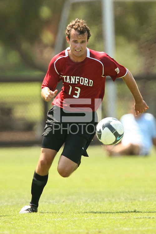 STANFORD, CA - AUGUST 20:  Cullen Wilson of the Stanford Cardinal during Stanford's 0-0 tie with Sonoma State on August 20, 2009 in Stanford, California.