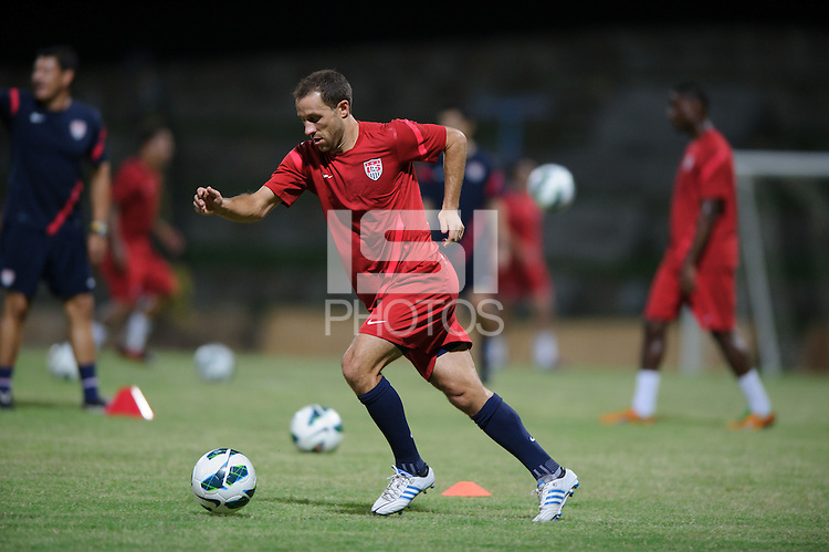 Antigua and Barbuda, Thursday, Oct 11, 2012: The USA Men's National Team trains at the Sir Vivian Richards Cricket Grounds.