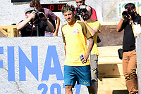 PRAIA GRANDE, SP, 08.07.2017 - NEYMAR-JR - Neymar Jr jogador brasileiro do Barcelona é visto durante evento Jr's Five no Instituto Neymar Jr. na Praia Grande litoral paulista neste sábado, 08. (Foto: Eduardo Martins/Brazil Photo Press)