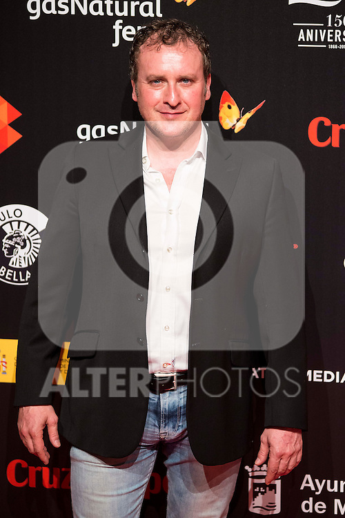 Fernando Cayo attends to the cocktail presentation of the XIX Malaga Film Festival at Circulo de Bellas Artes in Madrid. April 06, 2016. (ALTERPHOTOS/Borja B.Hojas)