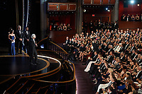 Roger Deakins accepts the Oscar® for Cinematography during the live ABC Telecast of The 92nd Oscars® at the Dolby® Theatre in Hollywood, CA on Sunday, February 9, 2020.<br /> *Editorial Use Only*<br /> CAP/AMPAS<br /> Supplied by Capital Pictures