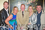 Enjoying the night out at Michael 'Fox' O'Connor's 60th birthday party held in The Brandon Hotel on Saturday night were l/r Ray & Theresa Foley, Michael 'Fox' O'Connor, Margo & Colin Rogers..   Copyright Kerry's Eye 2008