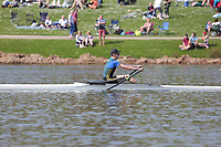 Race: 54  Event: J16 1x   Final A <br /> <br /> Junior Inter Regional Regatta 2018<br /> <br /> To purchase this photo, or to see pricing information for Prints and Downloads, click the blue 'Add to Cart' button at the top-right of the page.