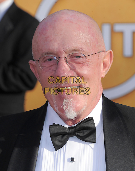 Jonathan Banks.Arrivals at the 19th Annual Screen Actors Guild Awards at the Shrine Auditorium in Los Angeles, California, USA..27th January 2013.SAG SAGs headshot portrait black bow tie shirt goatee facial hair tuxedo glasses .CAP/DVS.©DVS/Capital Pictures.