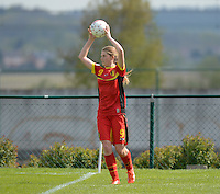 U 15 Belgian Red Flames - Virginia USA :<br /> <br /> Raquel Viaene<br /> <br /> foto Dirk Vuylsteke / Nikonpro.be