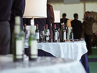 Trade wine tasting Cercle de Rive Droite. Saint Emilion. Bordeaux, France