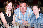 QUIZ: Emma O'Mahony, Mike O'Connor and Noreen Breen writing the answers down at the Fundraising Table Quiz in aid of Community Development in Vietnam, at O'Donnell's Bar & Restaurant, Mounthawk, Tralee, on Thursday night..