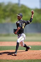 Pittsburgh Pirates pitcher Osvaldo Bido (62) during a Minor League Spring Training game against the Philadelphia Phillies on March 23, 2018 at the Carpenter Complex in Clearwater, Florida.  (Mike Janes/Four Seam Images)