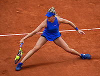 Paris, France, 26 June, 2016, Tennis, Roland Garros, Eugenie Bouchard (CAN)   <br /> Photo: Henk Koster/tennisimages.com