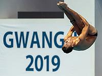 DOWN-JENKINS Anton NZL NEW ZEALAND<br /> Gwangju South Korea 17/07/2019<br /> Diving Men's 3m Springboard Preliminary <br /> 18th FINA World Aquatics Championships<br /> Nambu University Aquatics Center <br /> Photo © Andrea Staccioli / Deepbluemedia / Insidefoto