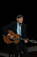 NEW YORK, NY - OCTOBER 4: James Taylor at Paul Simon's Children's Health Fund's 25th Anniversary Benefit Concert at Radio City Music Hall on October 4, 2012. Credit Jen Maler/MediaPunch Inc. © /NortePhoto /©NortePhoto