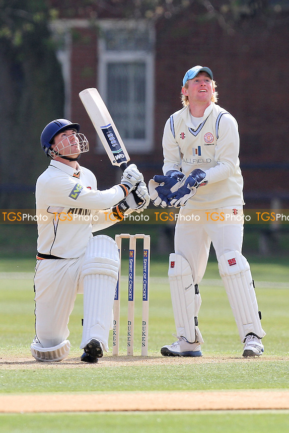 Tim Phillips in batting action for Essex - Cambridge MCCU vs Essex CCC - Friendly Cricket Match at Fenner's Cricket Ground, Cambridge University - 02/04/12 - MANDATORY CREDIT: Gavin Ellis/TGSPHOTO - Self billing applies where appropriate - 0845 094 6026 - contact@tgsphoto.co.uk - NO UNPAID USE.