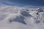 Off piste at Lech Ski Area, St Anton, Austria