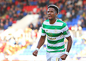 4th November 2017, McDiarmid Park, Perth, Scotland; Scottish Premiership football, St Johnstone versus Celtic; Scott Sinclair celebrates making it 1-0