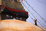 New flags for the Bodanath Stupa
