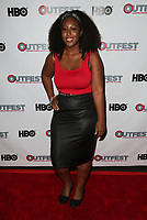 "11 July 2017 - West Hollywood, California - Michelle Sam. ""Hello Again"" 2017 Outfest Los Angeles LGBT Film Festival Screening. Photo Credit: F. Sadou/AdMedia"