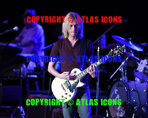 POMPANO BEACH FL - APRIL 06: Barry Goldberg and Kenny Wayne Shepherd of The Rides perform at The Pompano Beach Amphitheater on April 6, 2017 in Pompano Beach, Florida. Photo by Larry Marano © 2017