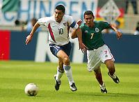 Claudio Reyna, 2002 World Cup, South Korea.