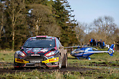 10th February 2019, Galway, Ireland; Galway International Rally; Jonathan Greer and Kirsty Riddick (Ford Fiesta R5) finish in 6th place
