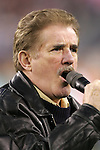 14 April 2007: Rene Rancourt sang both the Canadian and United States National Anthems during pregame ceremonies. The New England Revolution defeated Toronto FC 4-0 at Gillette Stadium in Foxboro, Massachusetts in an MLS Regular Season game.