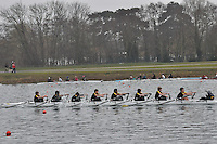 215 HamptonSchBC J14A.8x+..Marlow Regatta Committee Thames Valley Trial Head. 1900m at Dorney Lake/Eton College Rowing Centre, Dorney, Buckinghamshire. Sunday 29 January 2012. Run over three divisions.