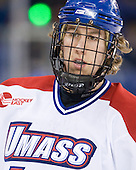 Michael Budd (Lowell - 18) - The visiting Northeastern University Huskies defeated the University of Massachusetts-Lowell River Hawks 3-2 with 14 seconds remaining in overtime on Friday, February 11, 2011, at Tsongas Arena in Lowelll, Massachusetts.