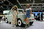 Daihatsu Basket on display during the first press day for the 41th Tokyo Motor Show, 21 October 2009 in Tokyo (Japan). The TMS will be open for the public from 23 October 2007 to 4 November 2009.