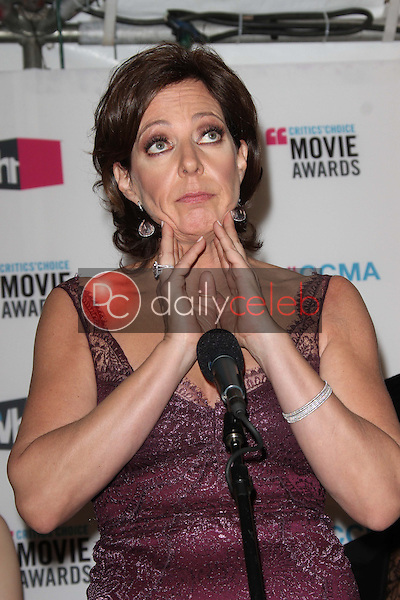 Allison Janney<br /> at the 17th Annual Critics' Choice Movie Awards, Palladium, Hollywood, CA  01-12-12<br /> David Edwards/DailyCeleb.com 818-249-4998