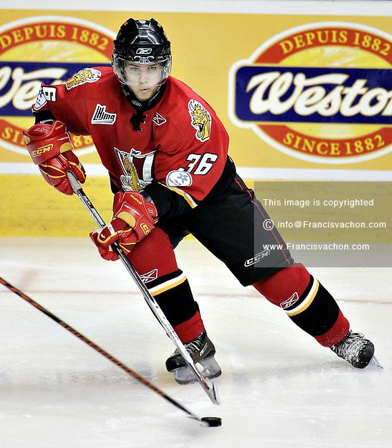 QMJHL (LHJMQ) Baie-Comeau Drakkar  #36 Benjamin Breault
