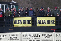 Fans look on during Hornchurch vs Aveley, Buildbase FA Trophy Football at Hornchurch Stadium on 11th January 2020
