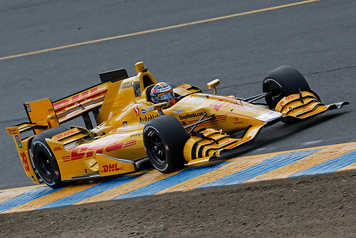 28-30 August, 2015, Sonoma, California USA<br /> Ryan Hunter-Reay<br /> ©2015, Perry Nelson<br /> LAT Photo USA
